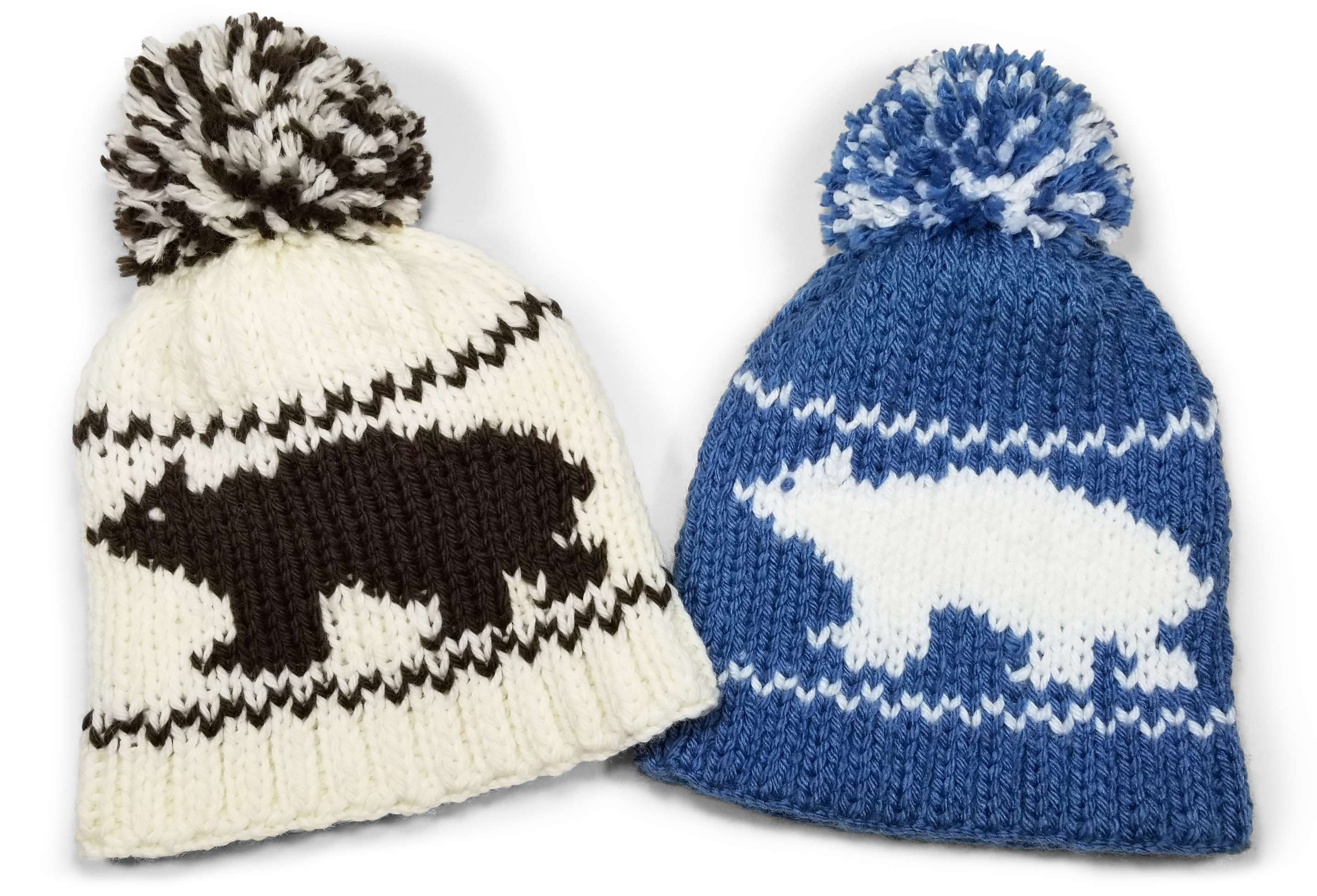 Double Knit Bear Beanie