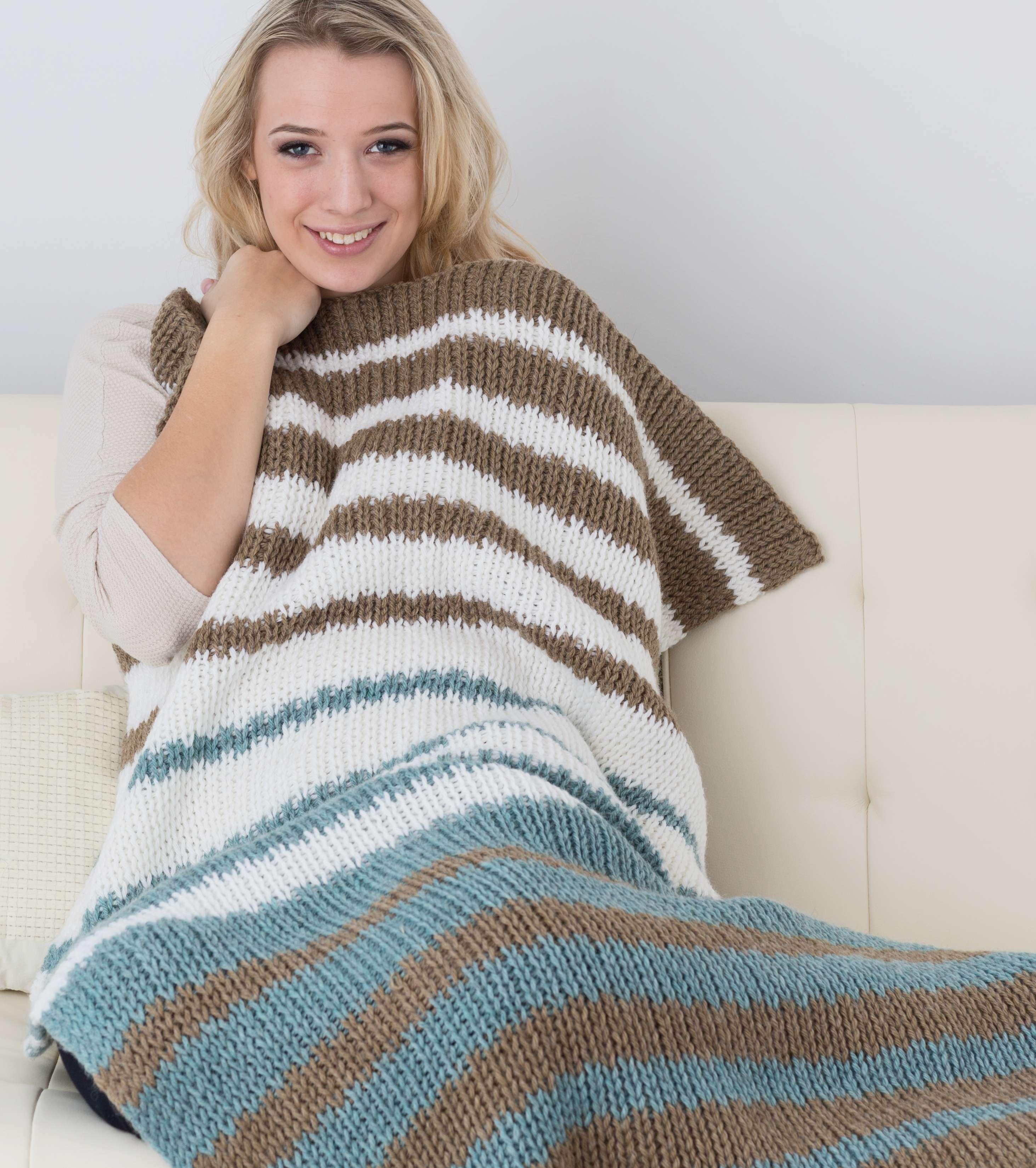 'Back to Basics' Blanket (double knit)