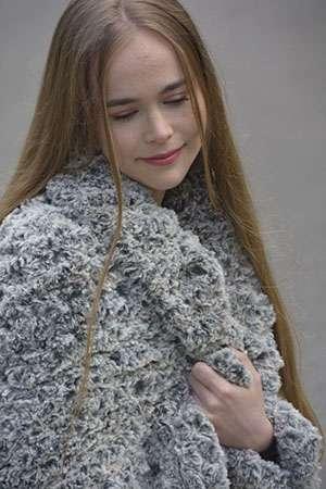Faux Fur Zippy Blanket