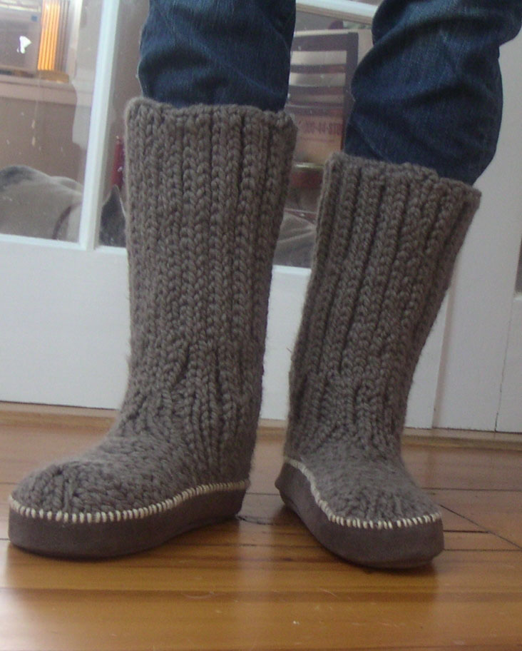 Knit Boot Pattern Kb Looms Blog