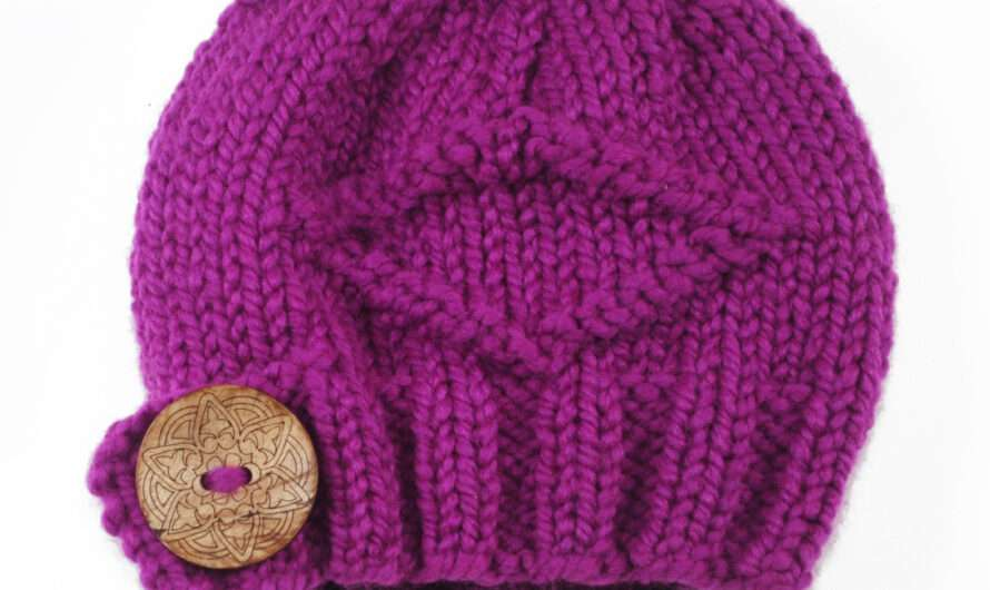 Button Flap Beanie