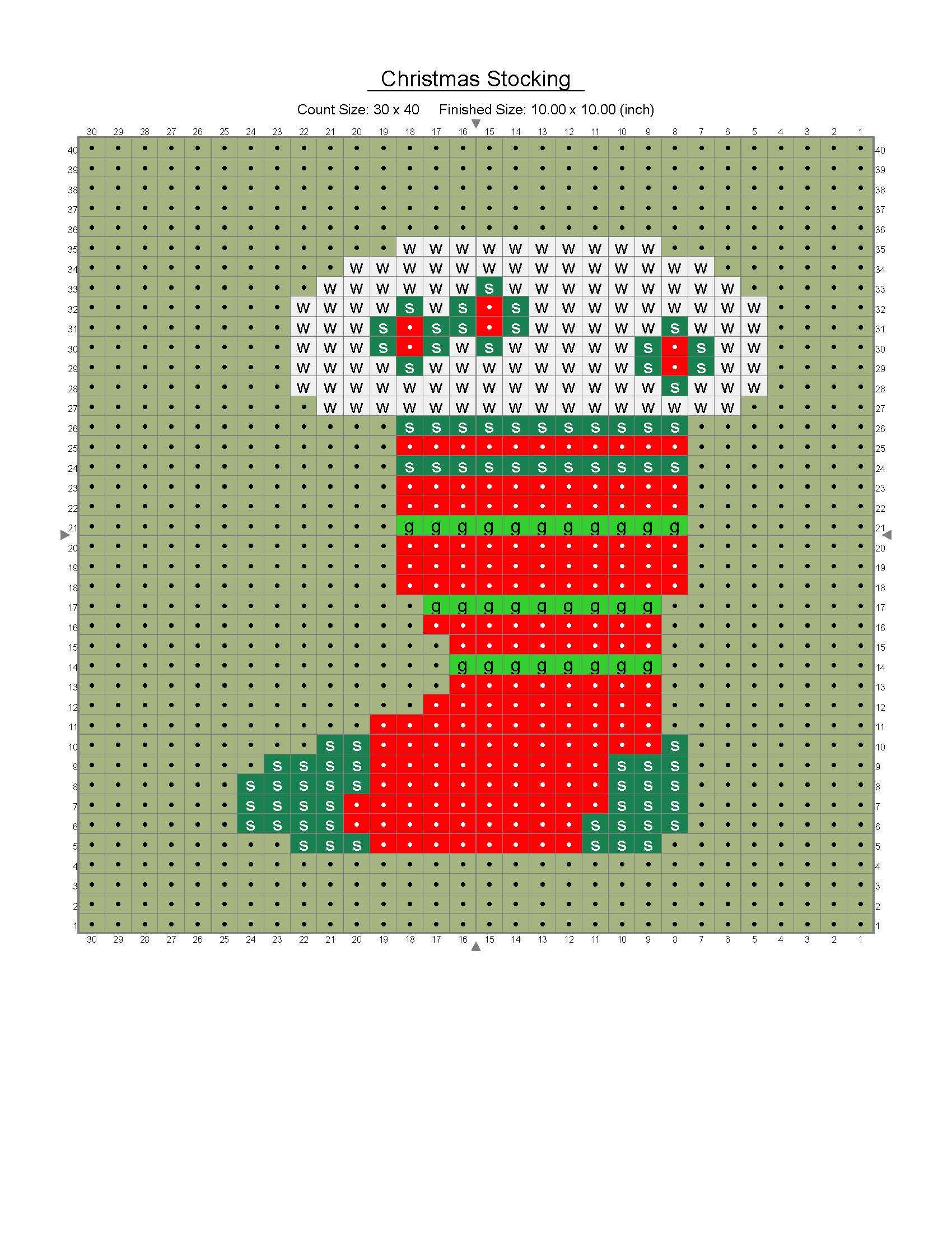 christmas stocking(graph2)