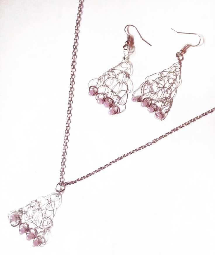Twisted Wire Jewelry Set