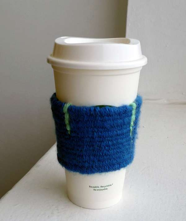 Weave a Sleeve for Your Coffee Cup