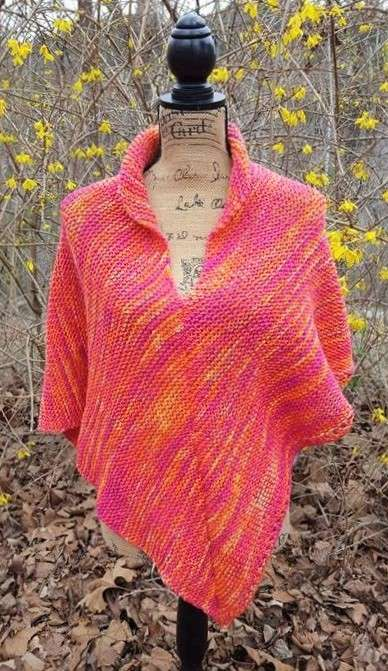 Spring in the Ozarks Poncho