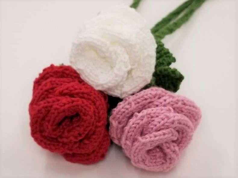Elegant Long Stem Roses