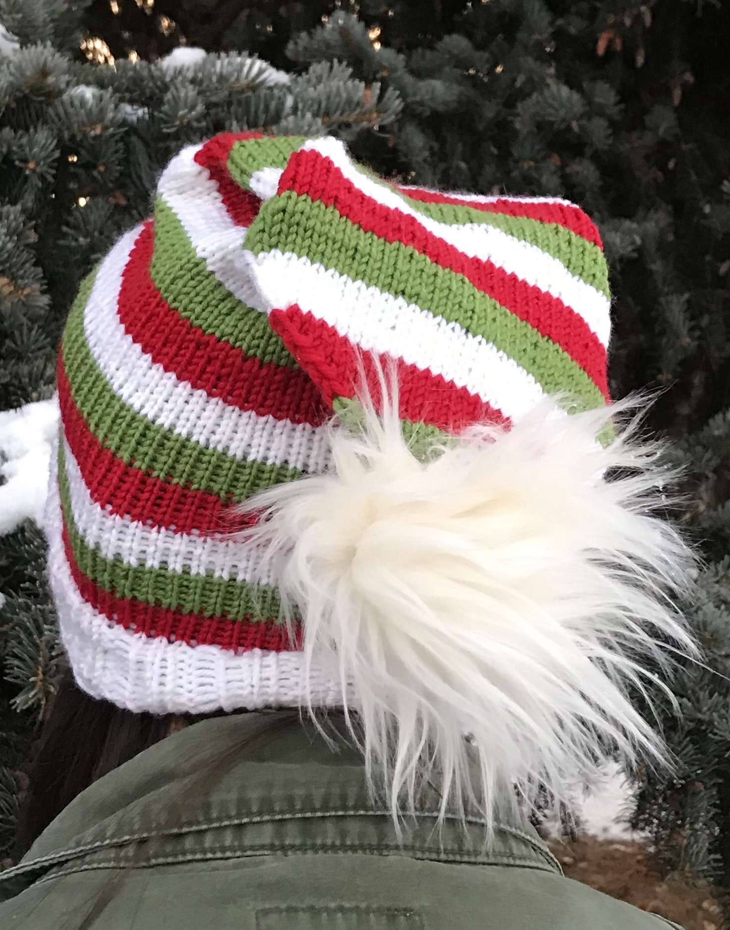 Holidays Slouchy Hat