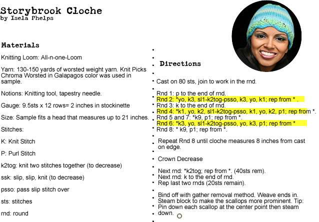 storybrook cloche instructions2