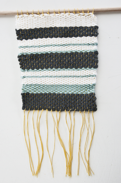 Simple Striped Woven Wall Hanging
